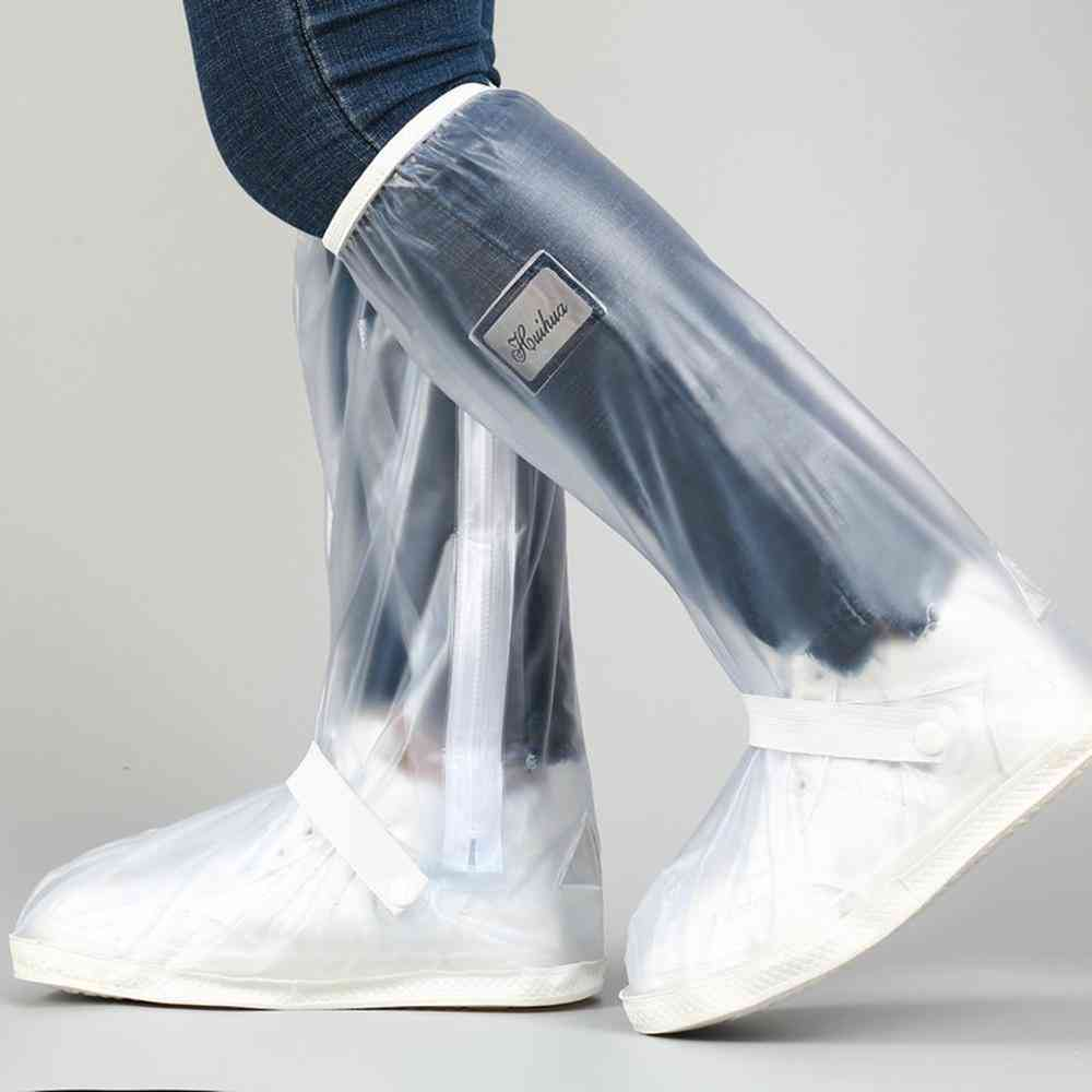 High Top Waterproof Shoes Covers For Motorcycle, Cycling