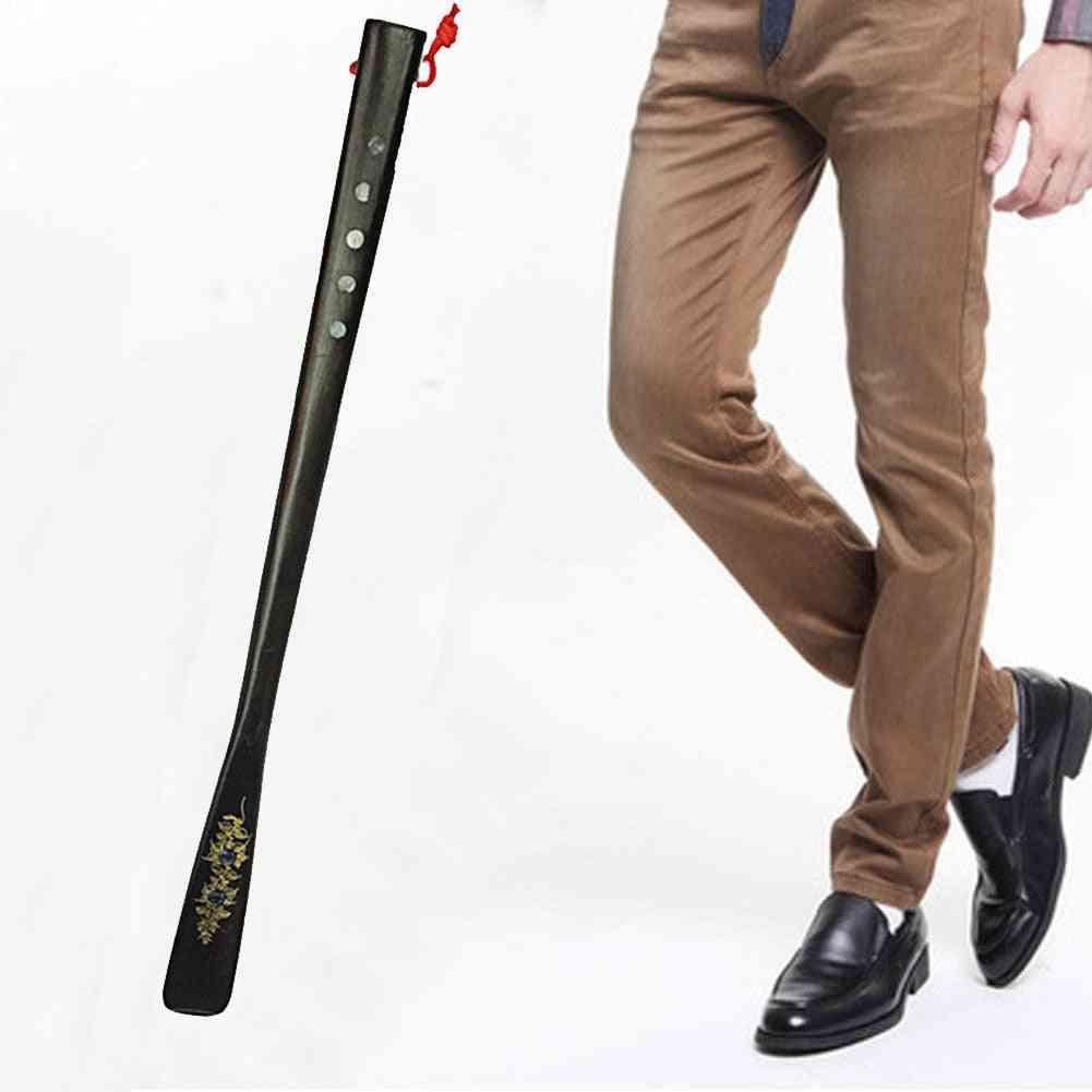 Portable High Heel Spoon Flexible Long Handle Shoe Horn Lifter