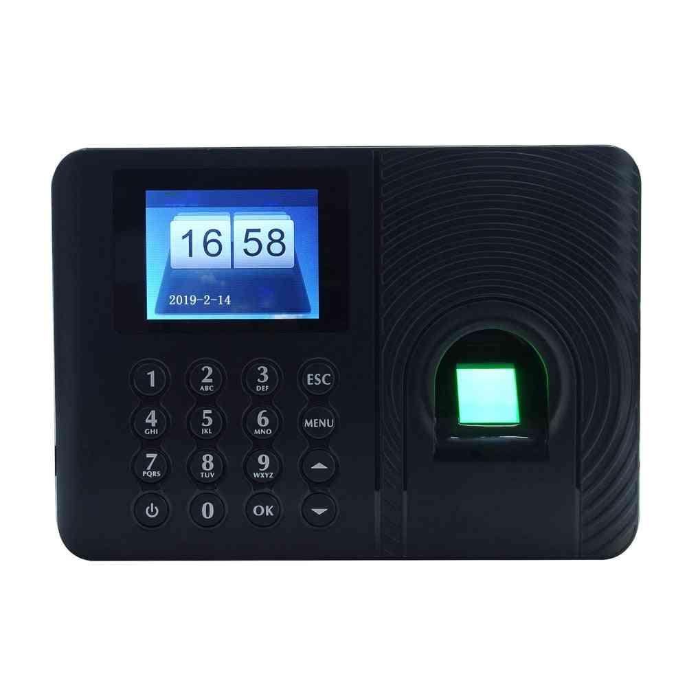Intelligent Biometric Fingerprint Password Attendance Machine