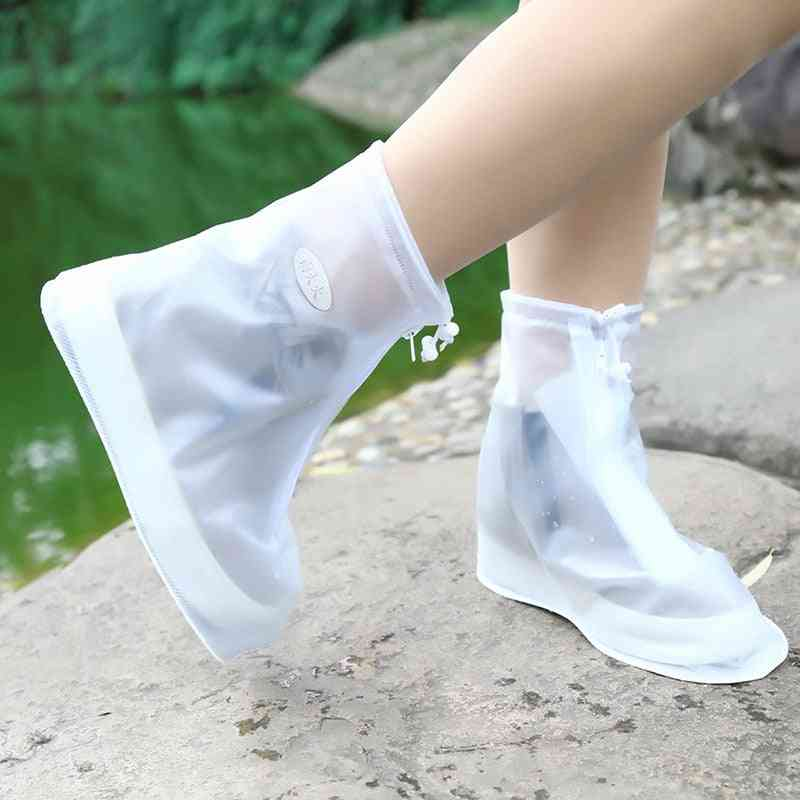Reusable Non-slip Rain Covers Shoes, Waterproof Silicone Shoe Cover