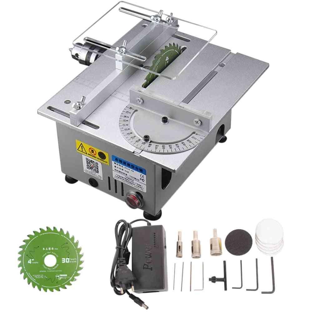 Aluminum Miniature, Table Saw Cutting Machine, Precision Carpentry, Chainsaw Cutter
