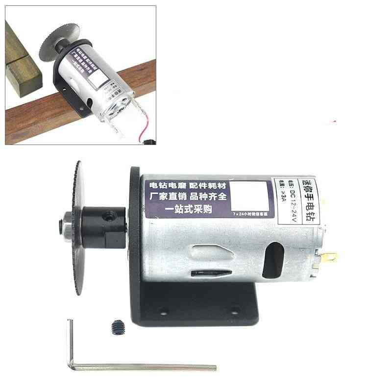 Electric Drill Saw, Mini-hand Drill, Press Motor With Ball Bearing, Mounting Bracket Machinery