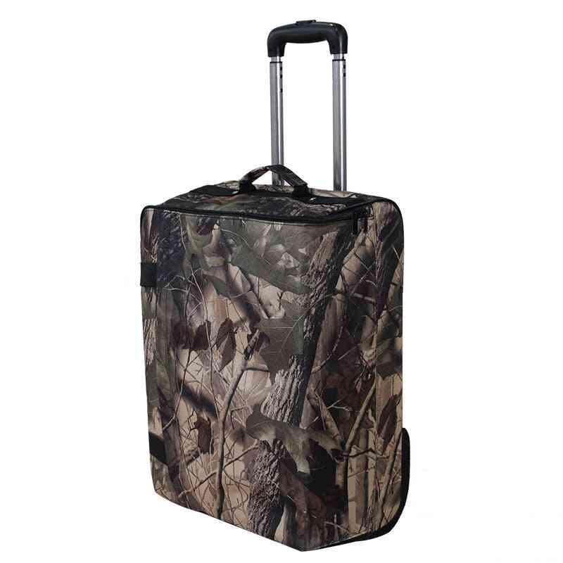 Travel Suitcase Rolling Luggage Oxford Bag Boarding Trolley Case