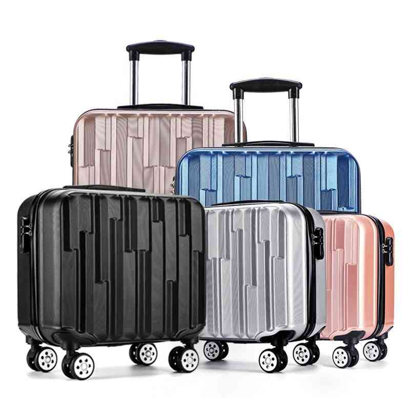 Trolley Luggage  Box, Abs Board Computer Box Travel Carry Ons Bag