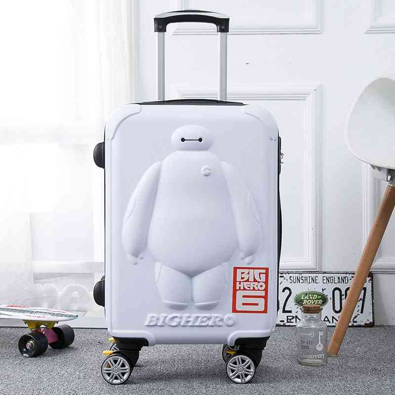 Travel Luggage  Rolling Suitcase, 3d Kid  Boarding Box
