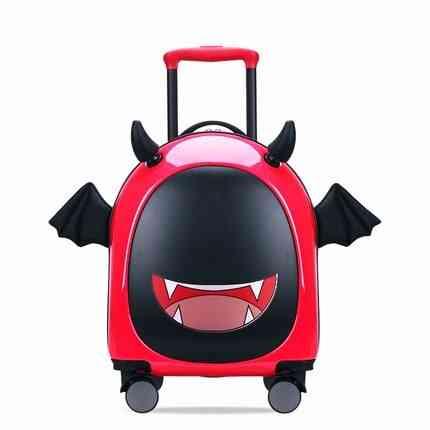 Cute Cartoon Suitcases Wheel Kids Travel Bag/student Trolley