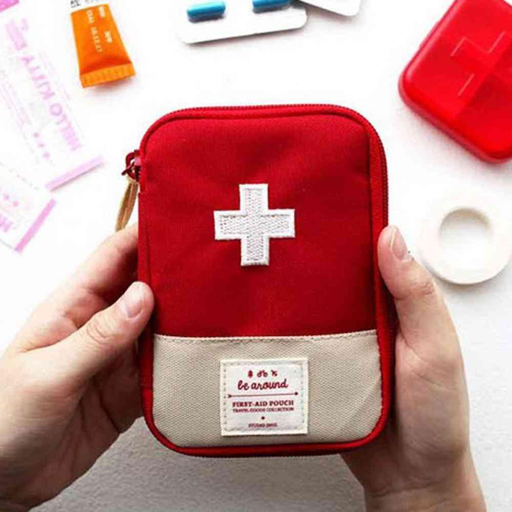 Portable Storage First Aid Emergency Medicine Bag