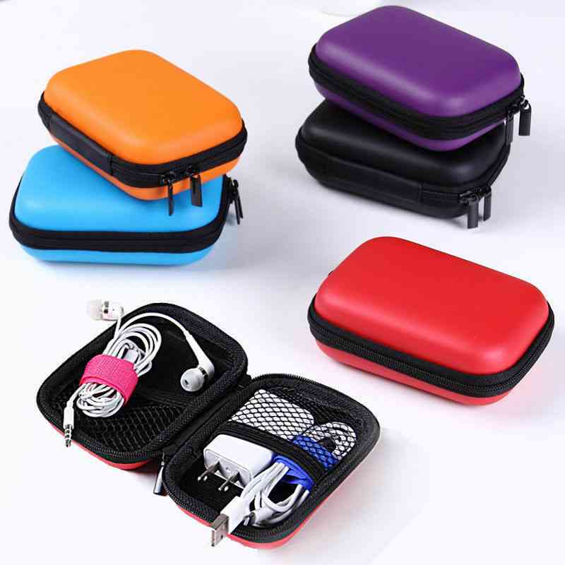 Travel Digital Usb Storage/cable Pouch, Bag, Hard Case