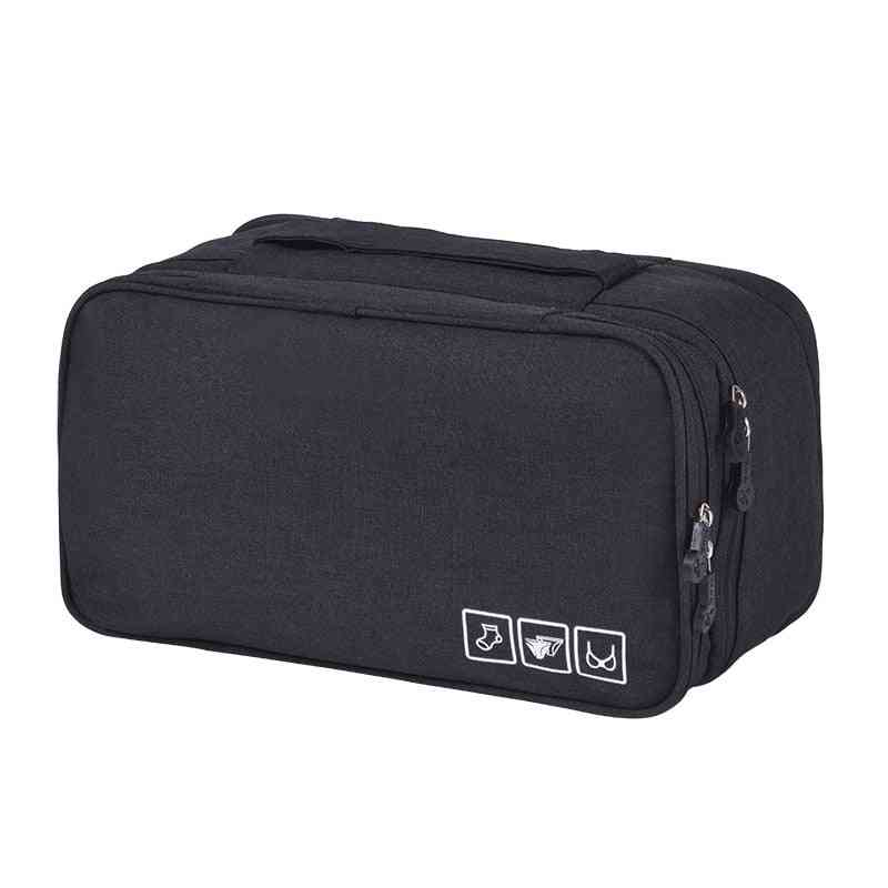 Travel Underwear Bags, Cosmetic Makeup Weekend Overnight Pouch
