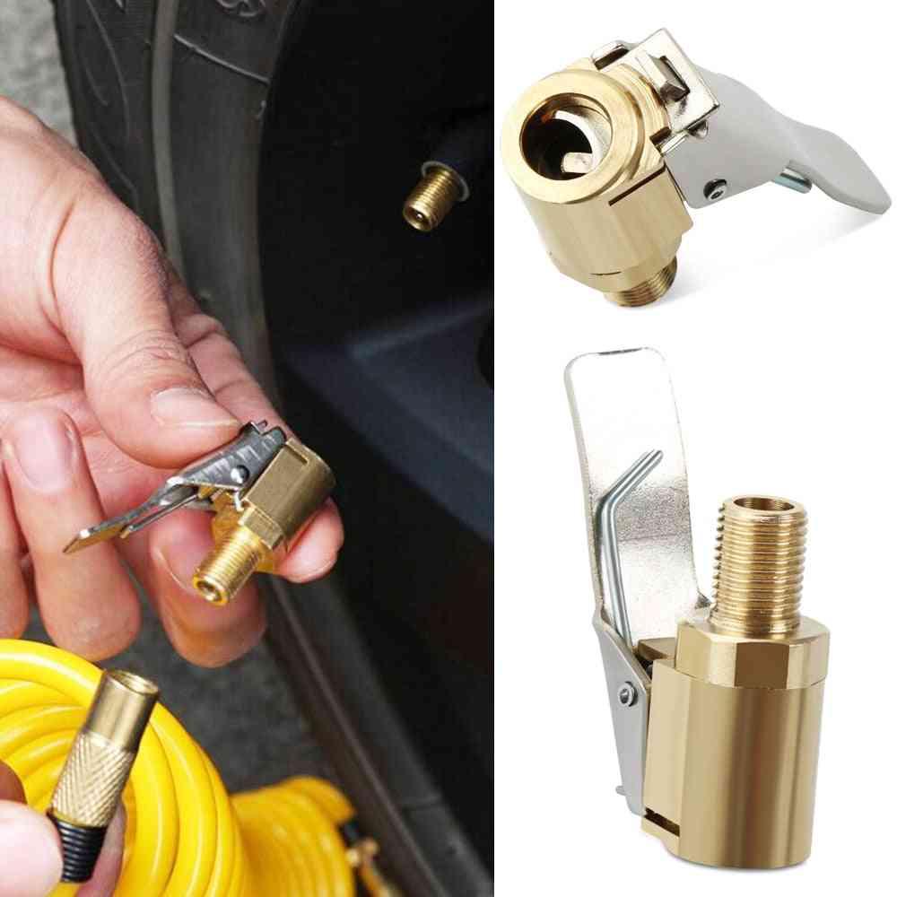 Car Air Pump Thread Nozzle Adapter Accessories, Fast Conversion Head Clip