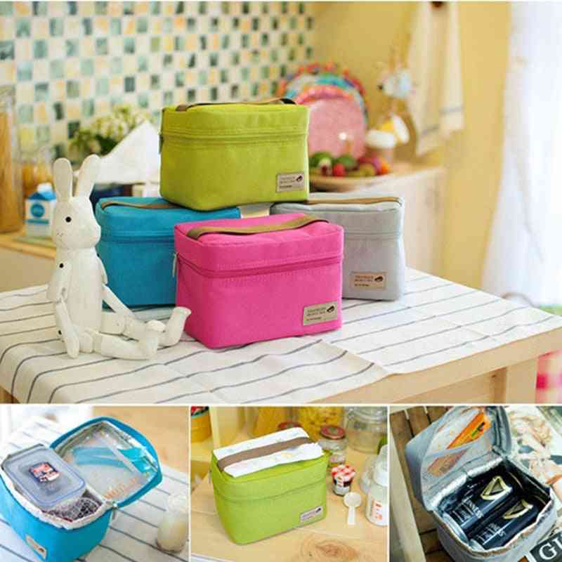 Cooler Bag, Waterproof Nylon Practical Small Portable Ice Bags