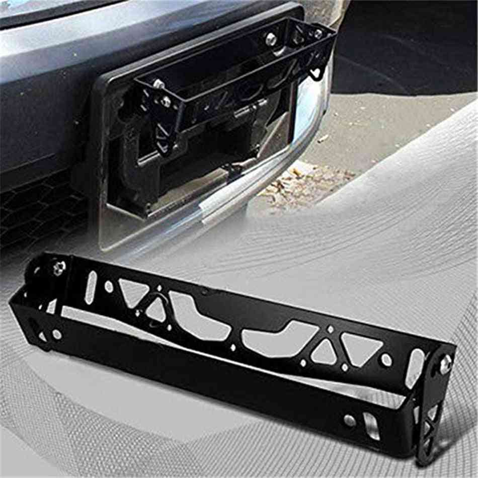 Auto License Plate Frame Aluminum Rotating Number Plates