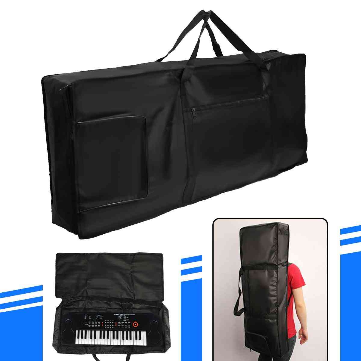 Portable Thick Padded Electric Piano Keyboard Bag