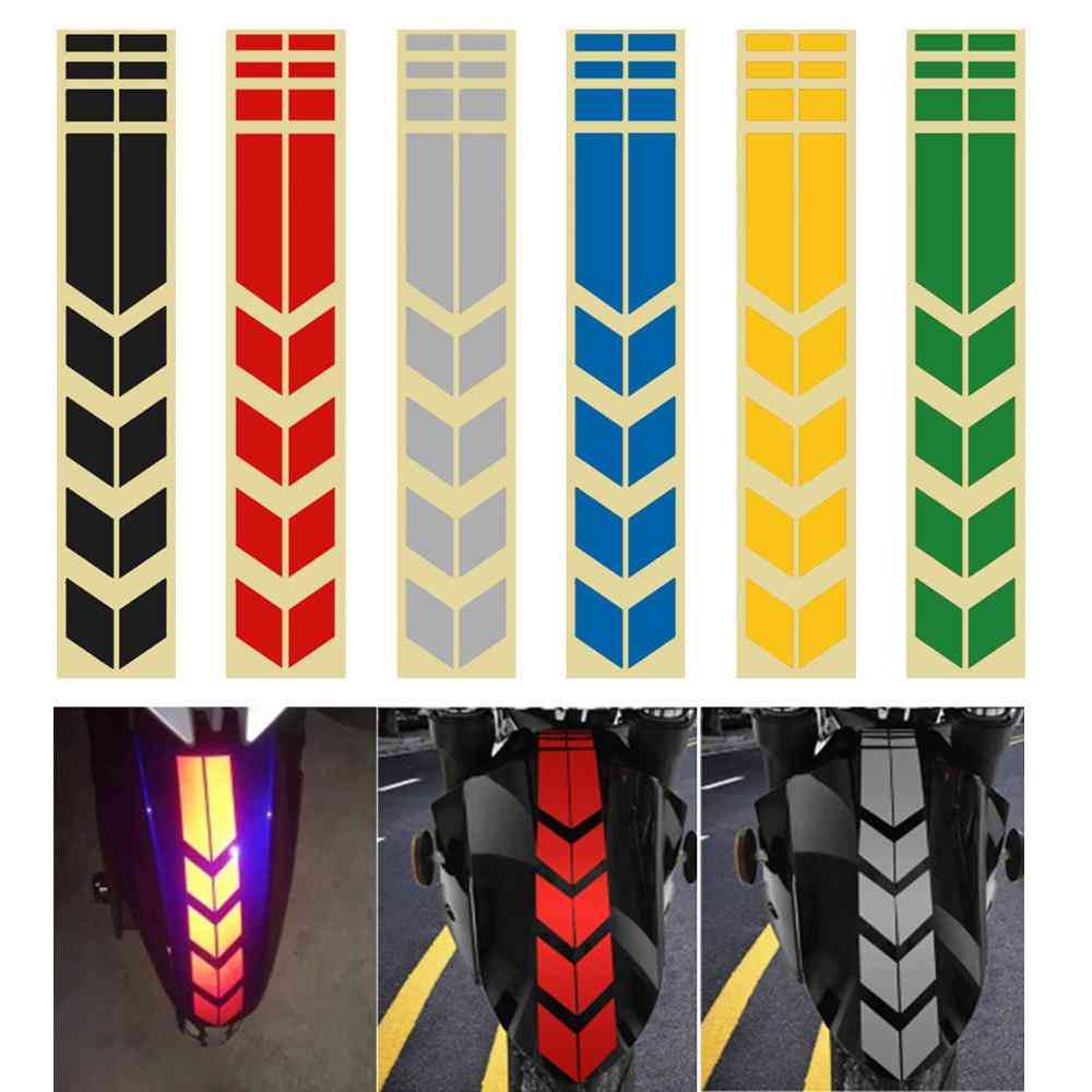 Moto Reflective, Road Safety Stickers For Bike