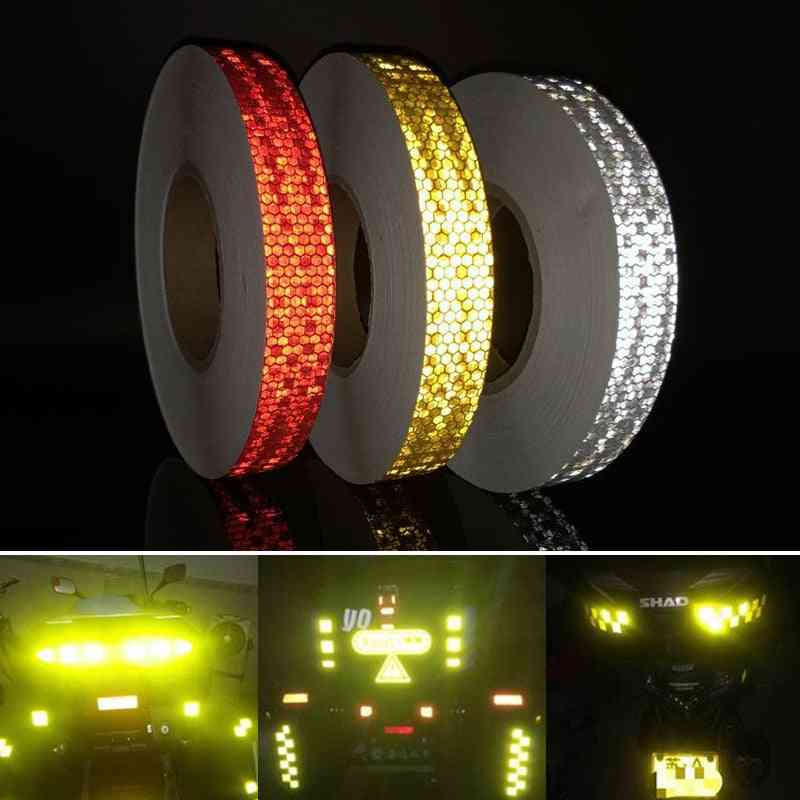 Reflective Stickers Strip Tape For Bicycle Wheel - Bike Accessories
