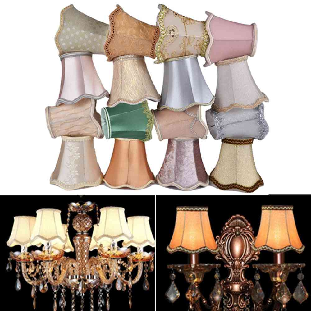 Crystal Wall Fabric Lampshade Style Modern Lamp Cover