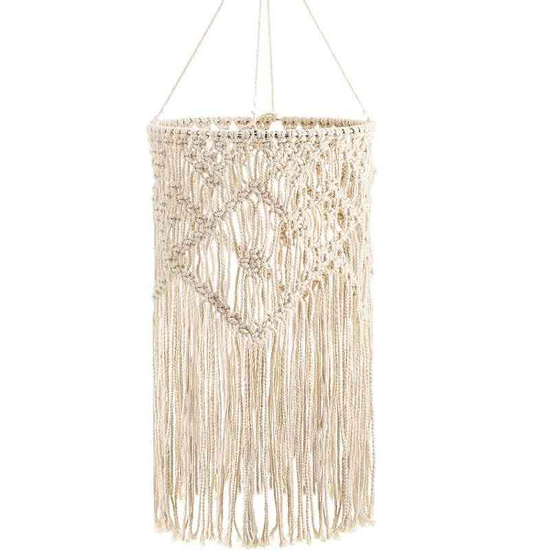 Hand-woven Living Room Ceiling Lamp Shade Bohemian