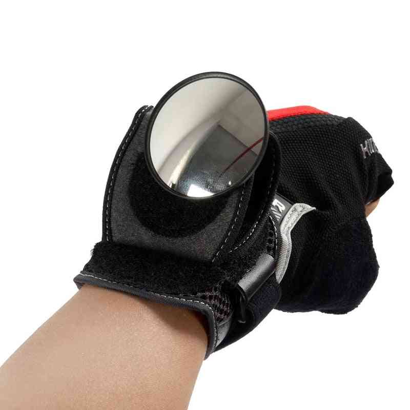 Wrist Mirror, Rearview Wristband And Handlebar Reflector Mirrors