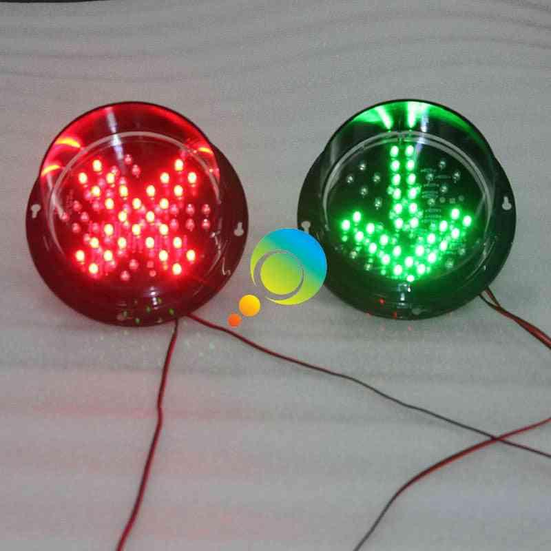 Dc12v/ Dc24v Red Cross And Green Arrow Led Traffic Lights