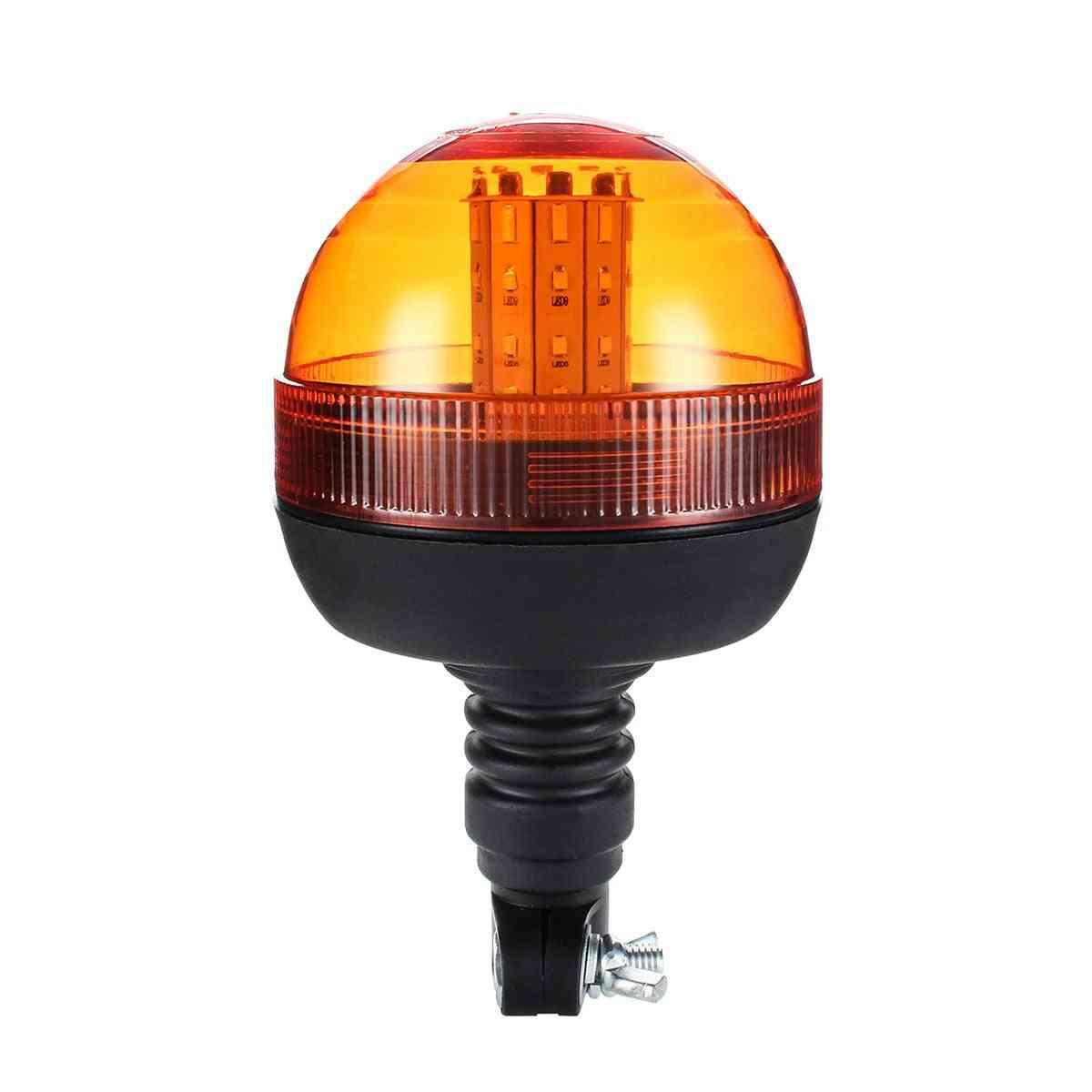 Safurance Led Rotating Flashing Amber Beacon Flexible Tractor Warning Light