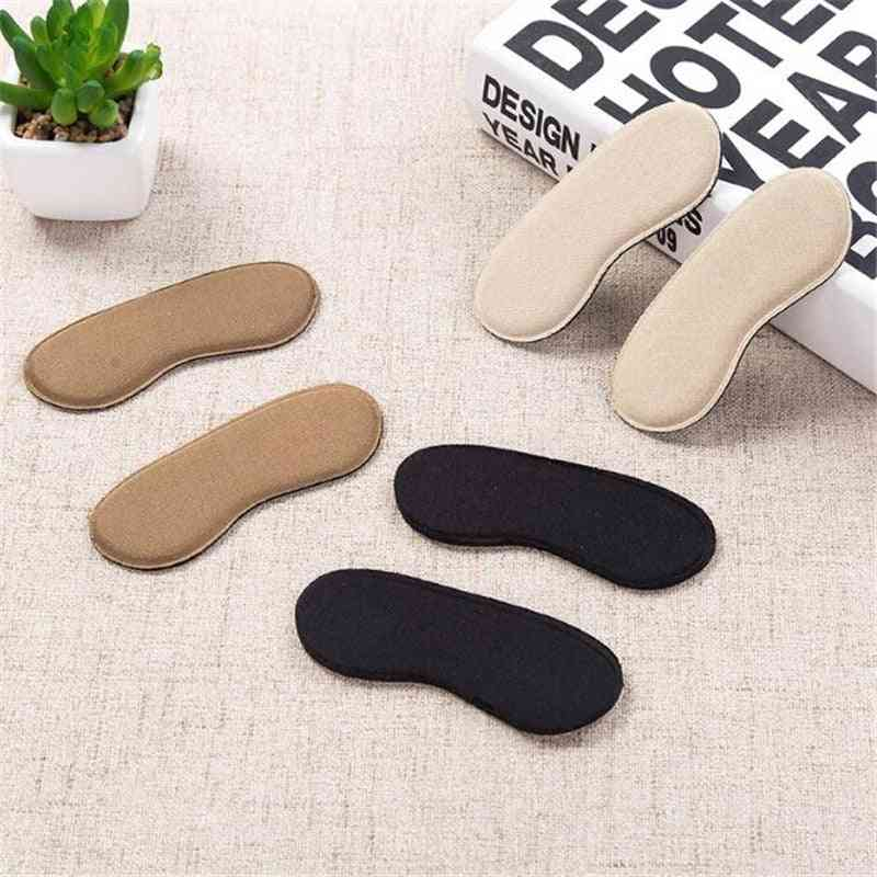 Elastic Heel Liner Sticky Sponge, Silicone Protector Pad, Cushions For Shoes