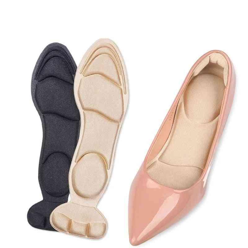 Non Slip, Soft Sponge  And Breathable Women Shoe Heel Pads