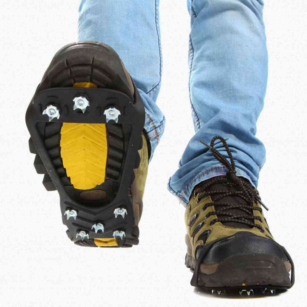 Spiked Grips 8 Tooth Crampons-anti Slip Shoe Cover
