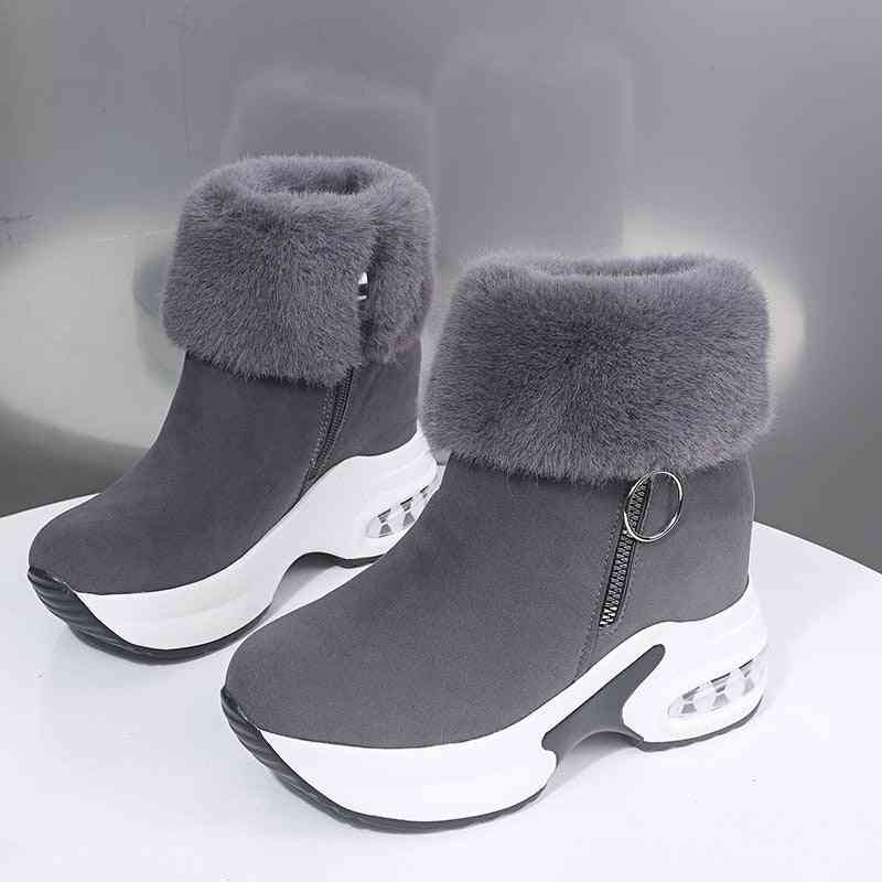 Women Ankle Boot, Warm Winter Shoes