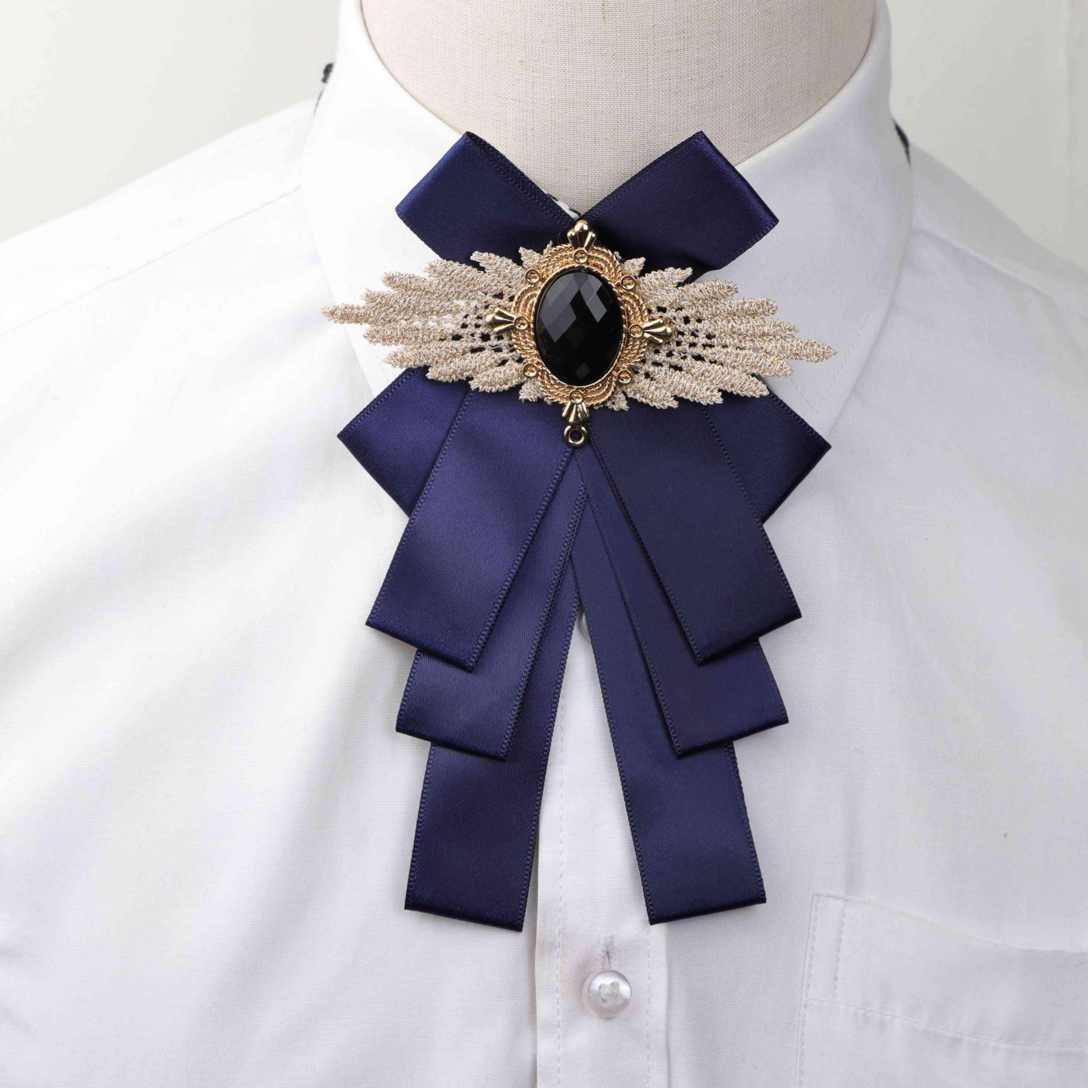 Women Fashion Pretty Ribbon Butterfly Bow Tie, Bowknot