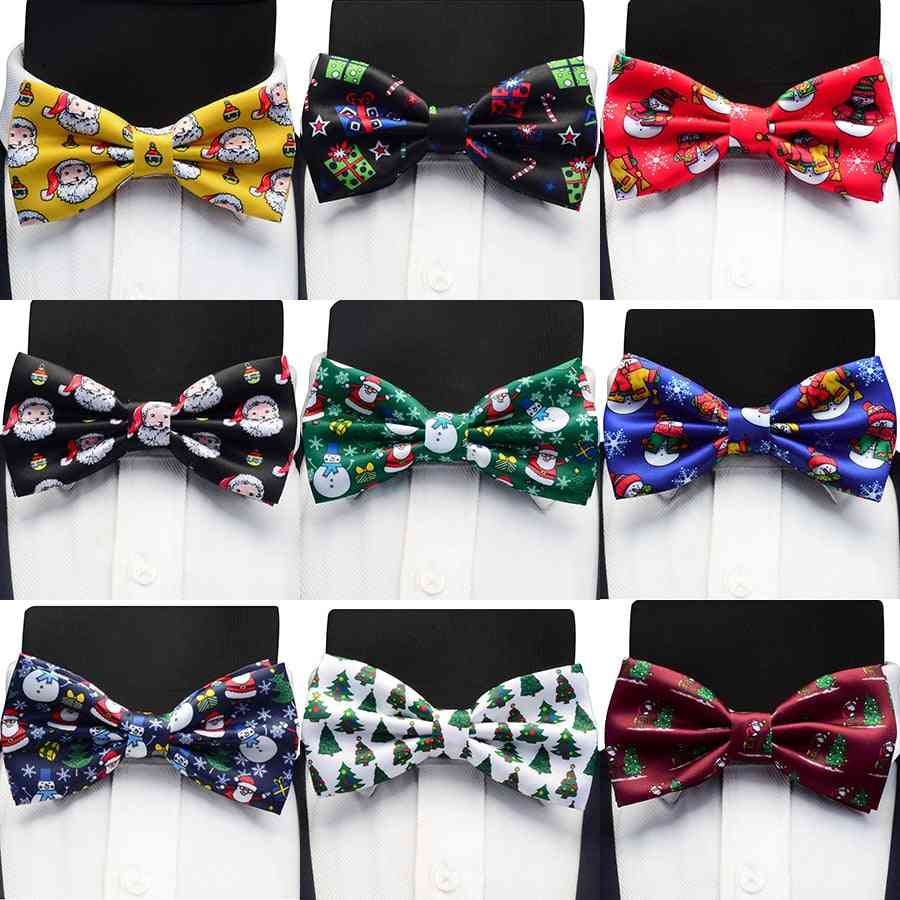 Cute Pattern Festival Theme Bow Tie For Men