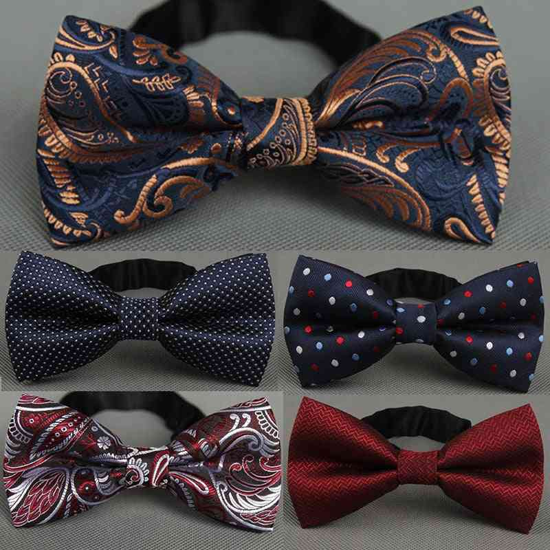 Men Business Wedding Groom Party Bow Tie, Bowknot