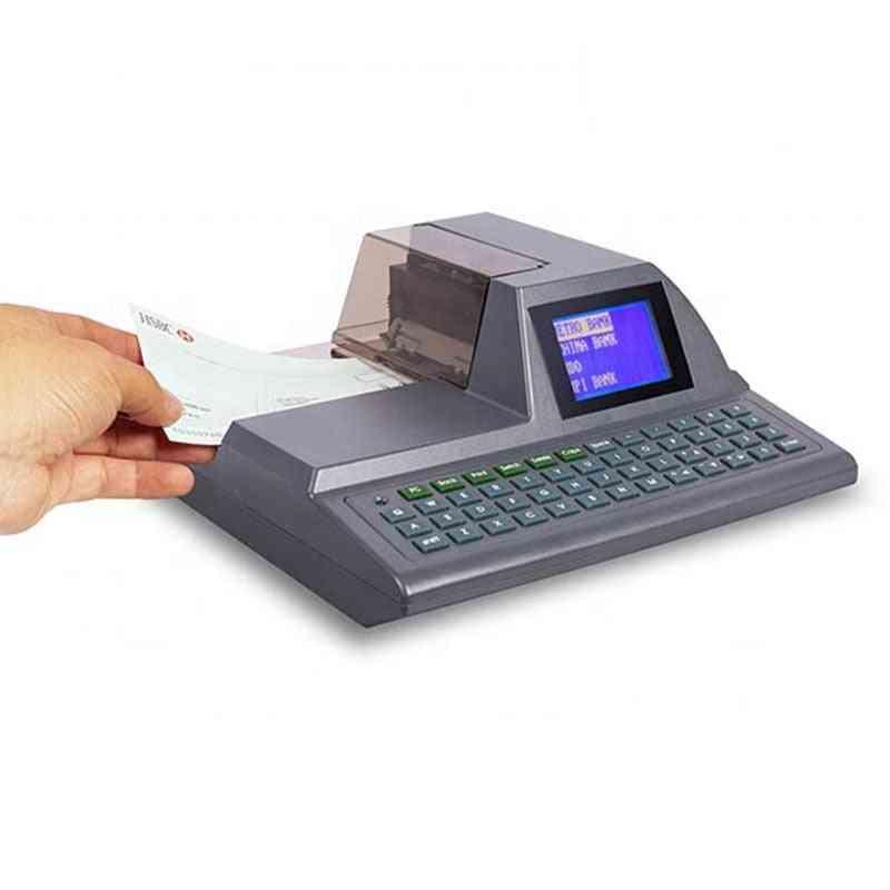 Intelligent Full-keyboard Check Printing Printer / Check Writing Machine