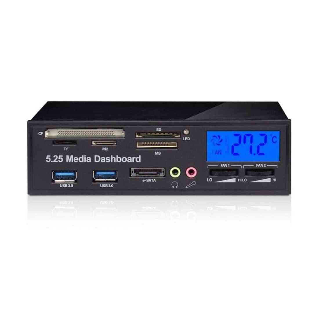 Multifunctional Media Panel- 5.25 Inch Dashboard