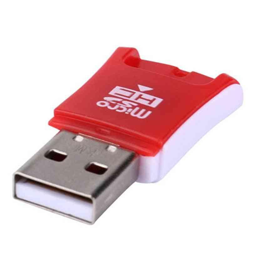 Simplestone High Speed Mini Usb 2.0 Micro Sd Tf T-flash Memory Card Reader, Adapter