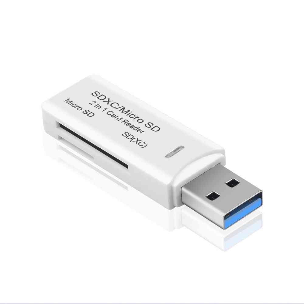 Usb 3.0 Sd/ Micro Sd, Smart Memory Card Reader
