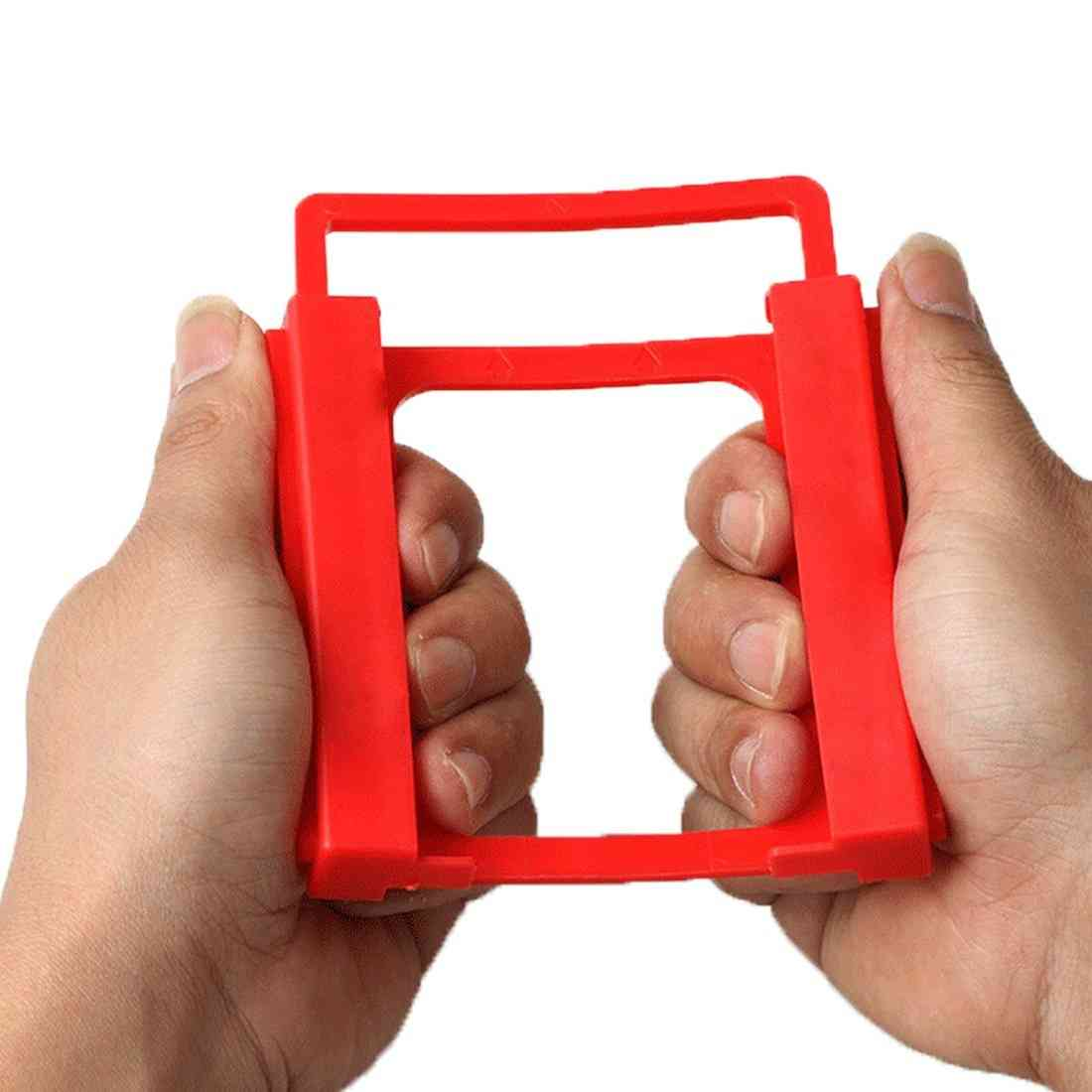 2.5 Inch To 3.5 Inch Ssd Hdd Mounting Plastic Adapter Bracket