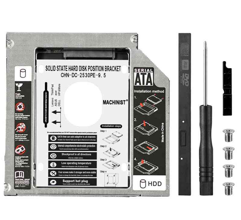 Aluminum Ssd Hard Disk Drive Position Bracket