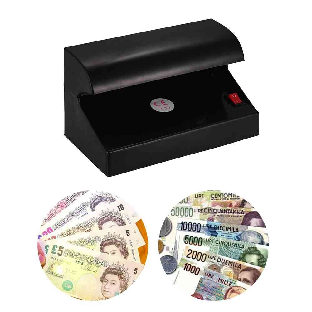 Portable Sibgle Uv Light Multi-currency Money Detector