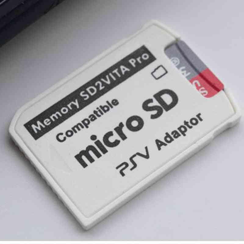 Version 6.0 Sd2vita For Ps Vita Memory Tf Card Game Card Psv 1000/2000 Adapter Micro Sd Card Reader