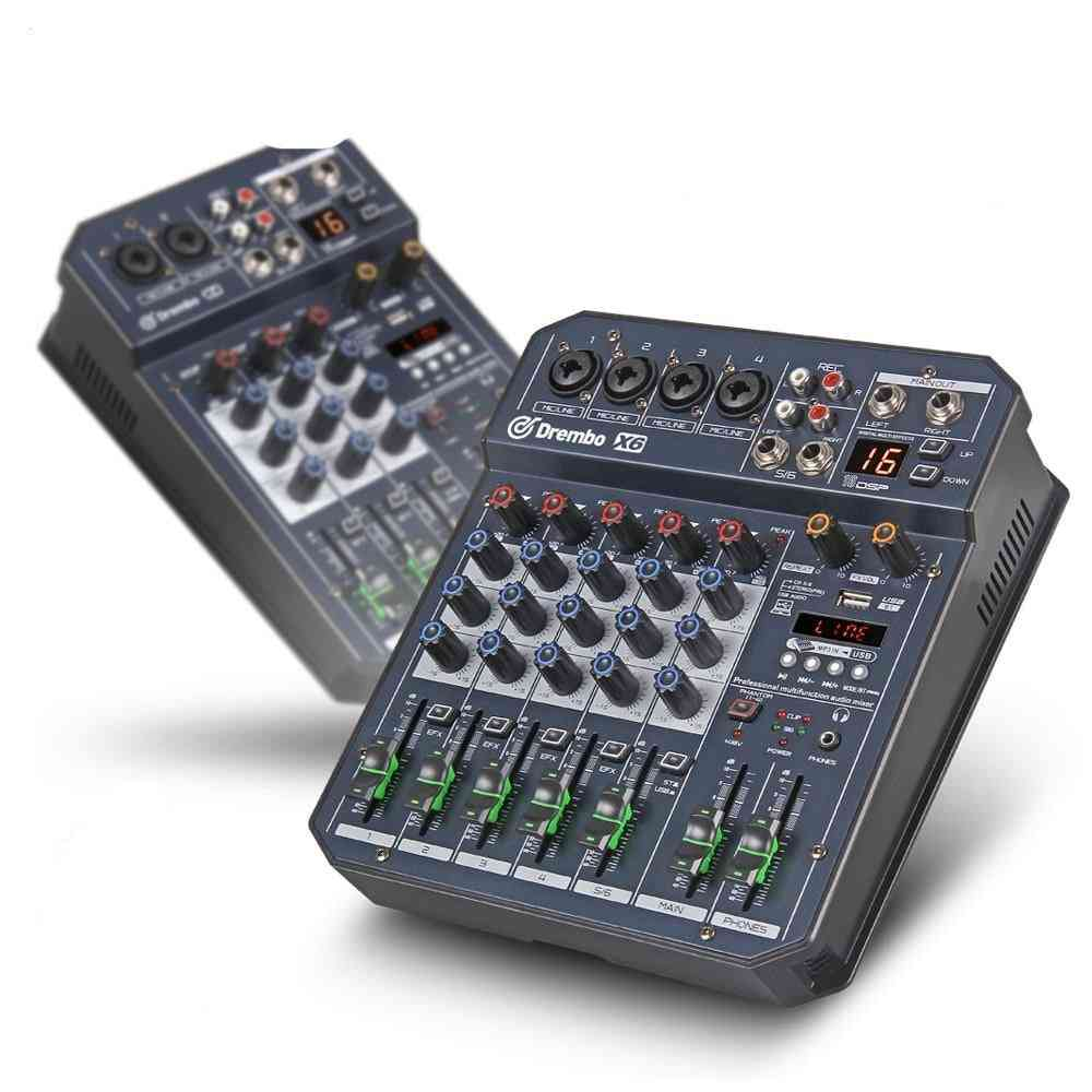 Professional Digital Audio Mixer Syatem With 16 Dsp Sound Effect