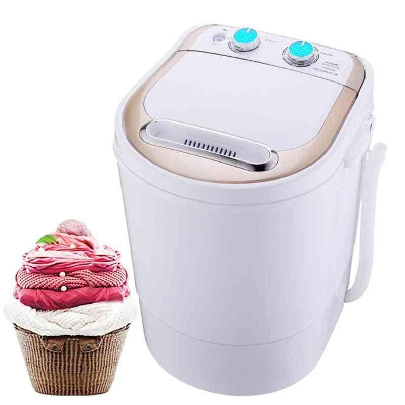 Mini  Semi-automatic Washing Machine With Spin Dryer