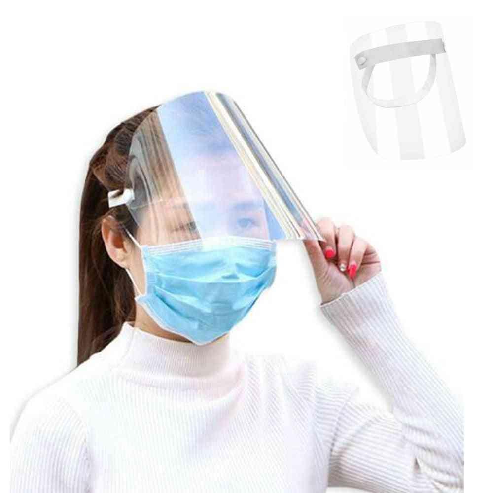Unisex Anti-splash Protective Cover Face Shield, Hat, Adjustable Cap