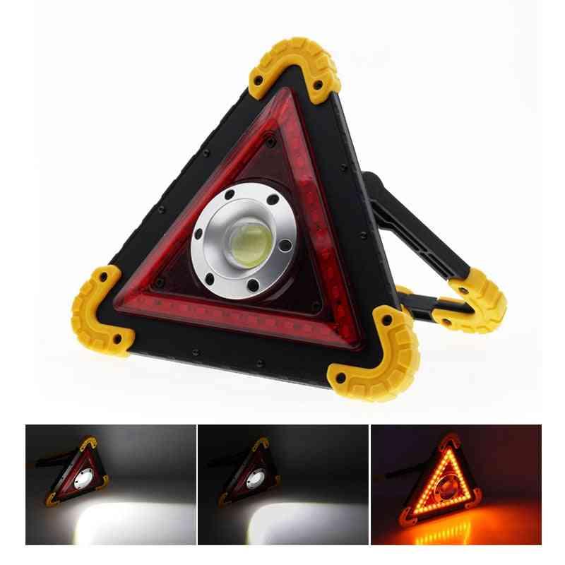 Emergency Warning Flood Light, Bright Cob Led Taillight, Car Repair Work Lamp
