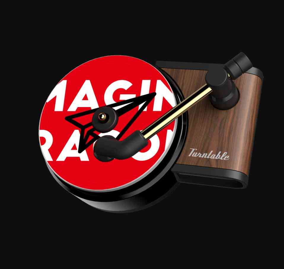 Record Player/phonograph Style Car Freshener Air Vent Clip