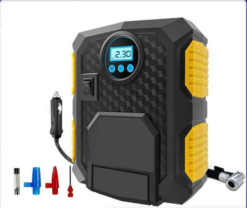 Portable Safety Tire Inflatation Pump-digital Air Compressor For Car/motorcycle