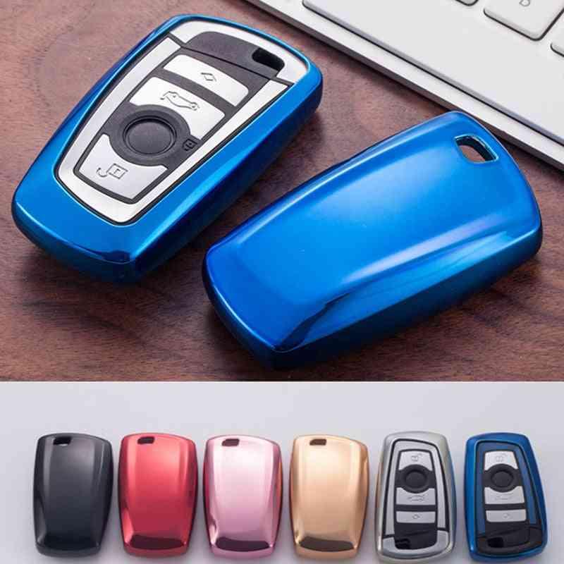 Soft Tpu Car Key Cover For Bmw Series