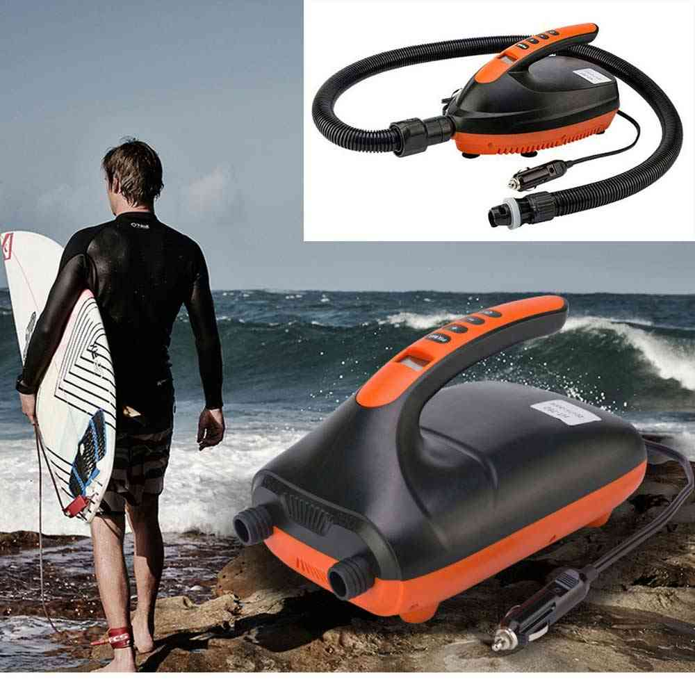 Intelligent Electric Air Pump Dual Stage For Outdoor Paddle Board