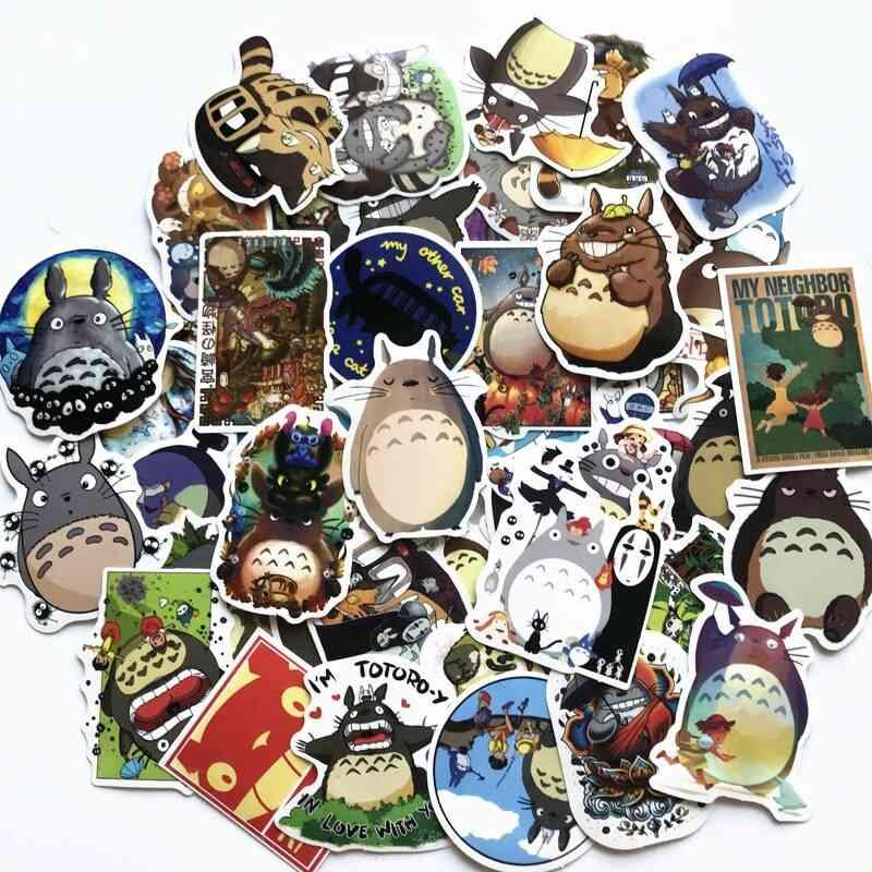 Anime Cartoon Sticker For Luggage, Laptop, Skateboard & Motorcycle