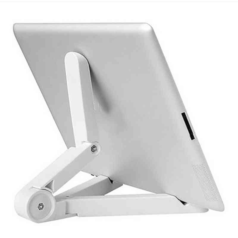 Stand For Ipad Phone/tablet Holder, Universal Foldable Adjustable Desktop Mount Stand