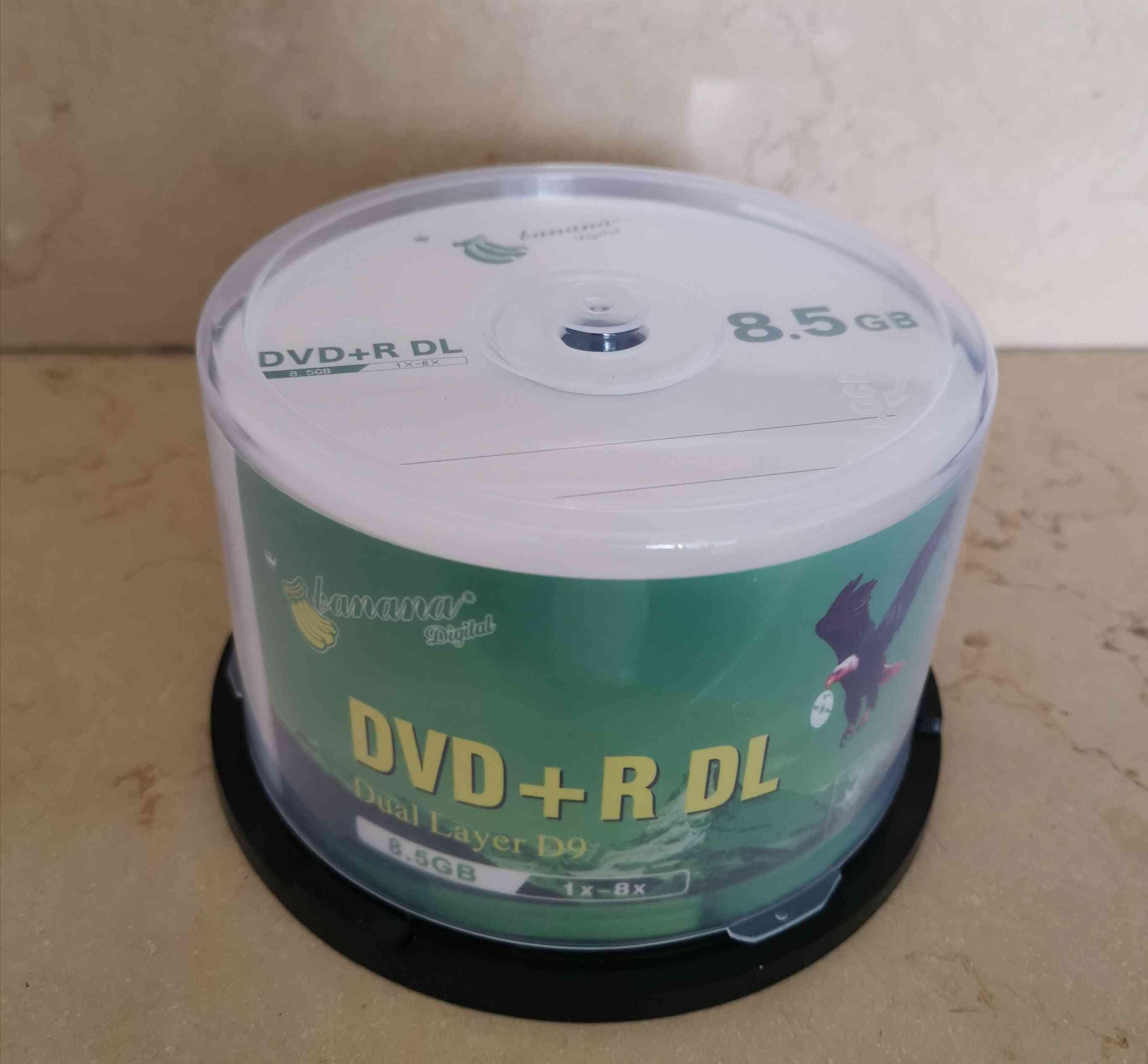 Dvd+r Dl 8.5gb Dual Layer D9 8x 240min